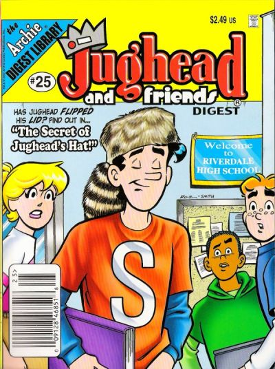 Cover for Jughead & Friends Digest Magazine (Archie, 2005 series) #25