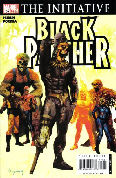 Cover for Black Panther (Marvel, 2005 series) #29