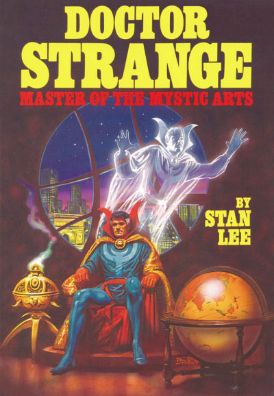 Cover for Doctor Strange Master of the Mystic Arts (Simon and Schuster, 1979 series)