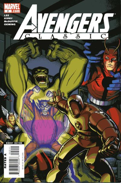 Cover for Avengers Classic (Marvel, 2007 series) #2