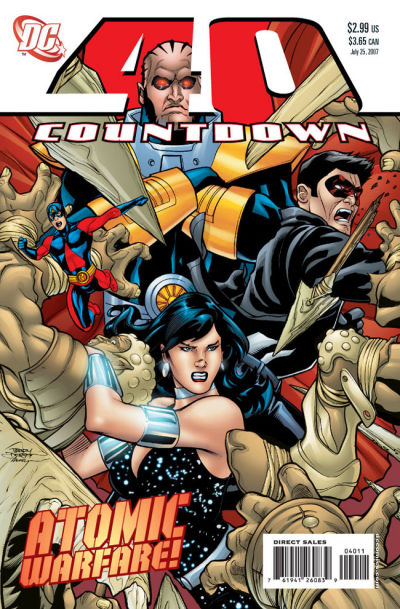 Cover for Countdown (DC, 2007 series) #40