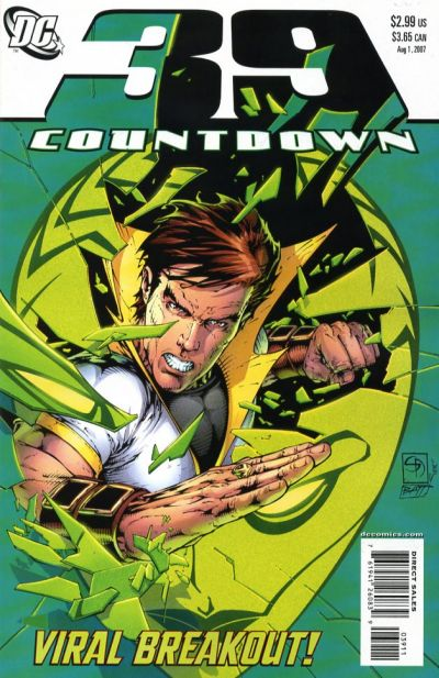 Cover for Countdown (DC, 2007 series) #39
