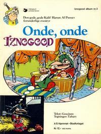Cover Thumbnail for Iznogood (Hjemmet / Egmont, 1977 series) #2 - Onde, onde Iznogood