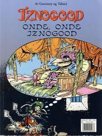 Cover Thumbnail for Iznogood (Hjemmet / Egmont, 1998 series) #2 - Onde, onde Iznogood