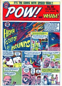 Cover Thumbnail for Pow! and Wham! (IPC, 1968 series) #69