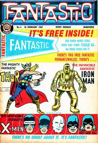 Cover Thumbnail for Fantastic! (IPC, 1967 series) #1