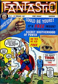 Cover Thumbnail for Fantastic! (IPC, 1967 series) #2