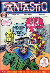 Cover Thumbnail for Fantastic! (IPC, 1967 series) #9