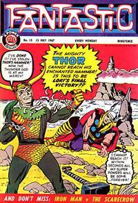 Cover Thumbnail for Fantastic! (IPC, 1967 series) #13