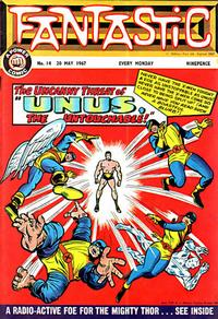 Cover Thumbnail for Fantastic! (IPC, 1967 series) #14