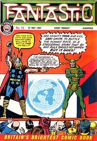 Cover Thumbnail for Fantastic! (IPC, 1967 series) #15