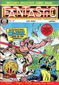 Cover Thumbnail for Fantastic! (IPC, 1967 series) #18