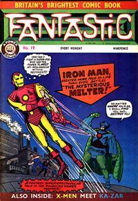 Cover Thumbnail for Fantastic! (IPC, 1967 series) #19