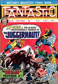 Cover Thumbnail for Fantastic! (IPC, 1967 series) #22
