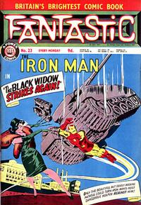 Cover Thumbnail for Fantastic! (IPC, 1967 series) #23