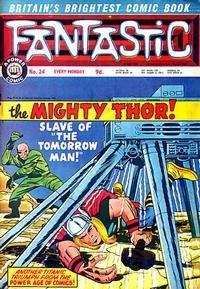 Cover Thumbnail for Fantastic! (IPC, 1967 series) #24