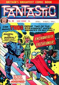 Cover Thumbnail for Fantastic! (IPC, 1967 series) #25
