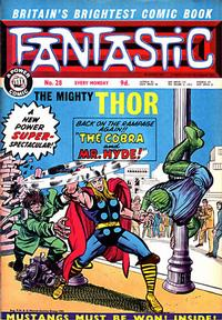 Cover Thumbnail for Fantastic! (IPC, 1967 series) #28