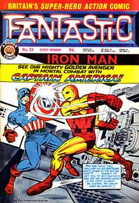 Cover Thumbnail for Fantastic! (IPC, 1967 series) #33