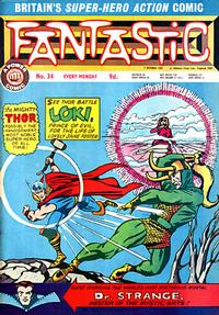 Cover Thumbnail for Fantastic! (IPC, 1967 series) #34