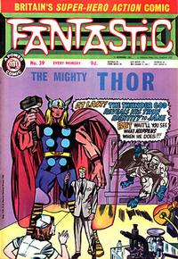 Cover Thumbnail for Fantastic! (IPC, 1967 series) #39