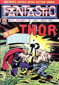 Cover Thumbnail for Fantastic! (IPC, 1967 series) #41