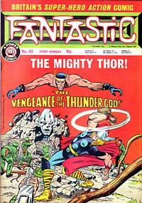 Cover Thumbnail for Fantastic! (IPC, 1967 series) #43