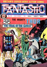 Cover Thumbnail for Fantastic! (IPC, 1967 series) #45