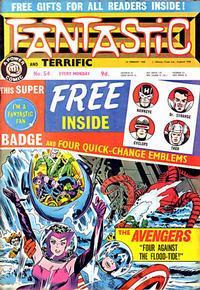 Cover Thumbnail for Fantastic! (IPC, 1967 series) #54