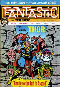 Cover Thumbnail for Fantastic! (IPC, 1967 series) #58