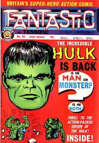 Cover Thumbnail for Fantastic! (IPC, 1967 series) #70