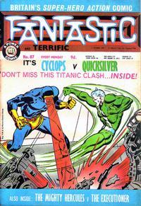 Cover Thumbnail for Fantastic! (IPC, 1967 series) #87