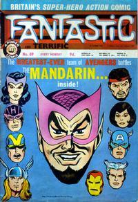 Cover Thumbnail for Fantastic! (IPC, 1967 series) #89
