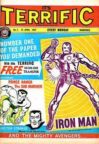 Cover Thumbnail for Terrific! (IPC, 1967 series) #1