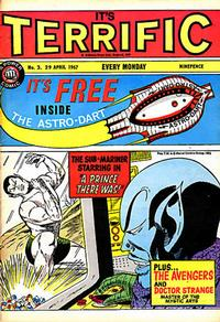 Cover Thumbnail for Terrific! (IPC, 1967 series) #3