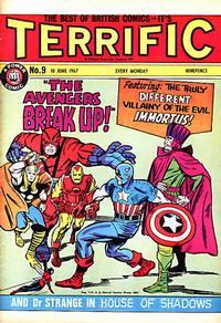 Cover Thumbnail for Terrific! (IPC, 1967 series) #9