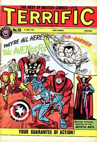 Cover Thumbnail for Terrific! (IPC, 1967 series) #10