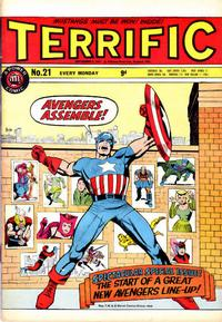 Cover for Terrific! (IPC, 1967 series) #21