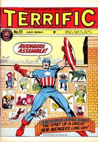 Cover Thumbnail for Terrific! (IPC, 1967 series) #21