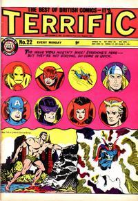 Cover Thumbnail for Terrific! (IPC, 1967 series) #22