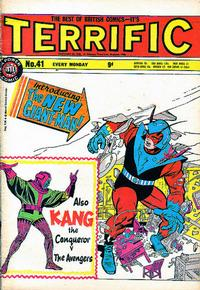 Cover Thumbnail for Terrific! (IPC, 1967 series) #41