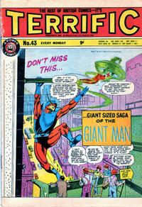 Cover Thumbnail for Terrific! (IPC, 1967 series) #43
