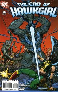 Cover Thumbnail for Hawkgirl (DC, 2006 series) #66