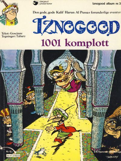 Cover for Iznogood (Hjemmet / Egmont, 1977 series) #3 - 1001 komplott