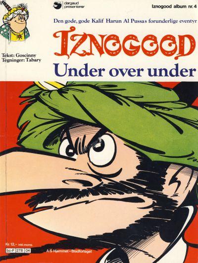 Cover for Iznogood (Hjemmet / Egmont, 1977 series) #4 - Under over under