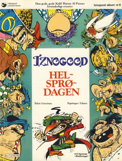 Cover for Iznogood (Hjemmet / Egmont, 1977 series) #6 - Helsprødagen