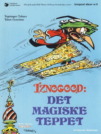 Cover for Iznogood (Hjemmet / Egmont, 1977 series) #8 - Det magiske teppet