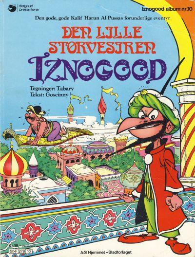Cover for Iznogood (Hjemmet / Egmont, 1977 series) #10 - Den lille storvesiren Iznogood