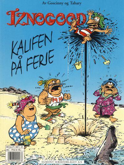 Cover for Iznogood (Hjemmet / Egmont, 1998 series) #1 - Kalifen på ferie