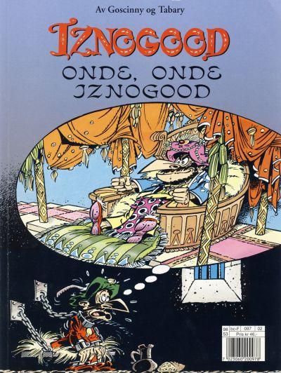 Cover for Iznogood (Hjemmet / Egmont, 1998 series) #2 - Onde, onde Iznogood